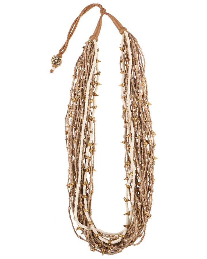 Mejooli Hancrafted Necklace